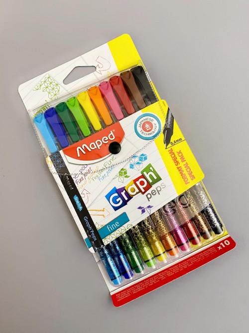 اقلام ملونة متعدد الاستخدام مابيد